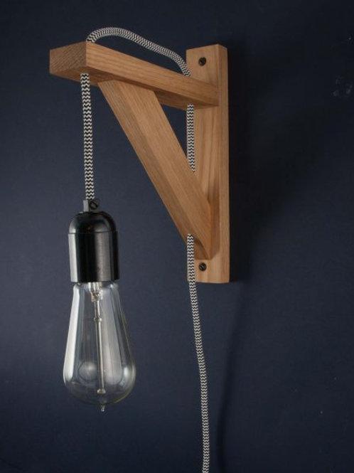 Industrial Hinge Wall Light&Bracket £80+VAT