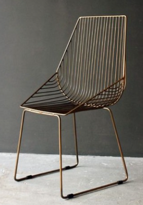 possible dining chair - adds texture