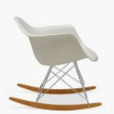 Eames Style Rocker Armchair