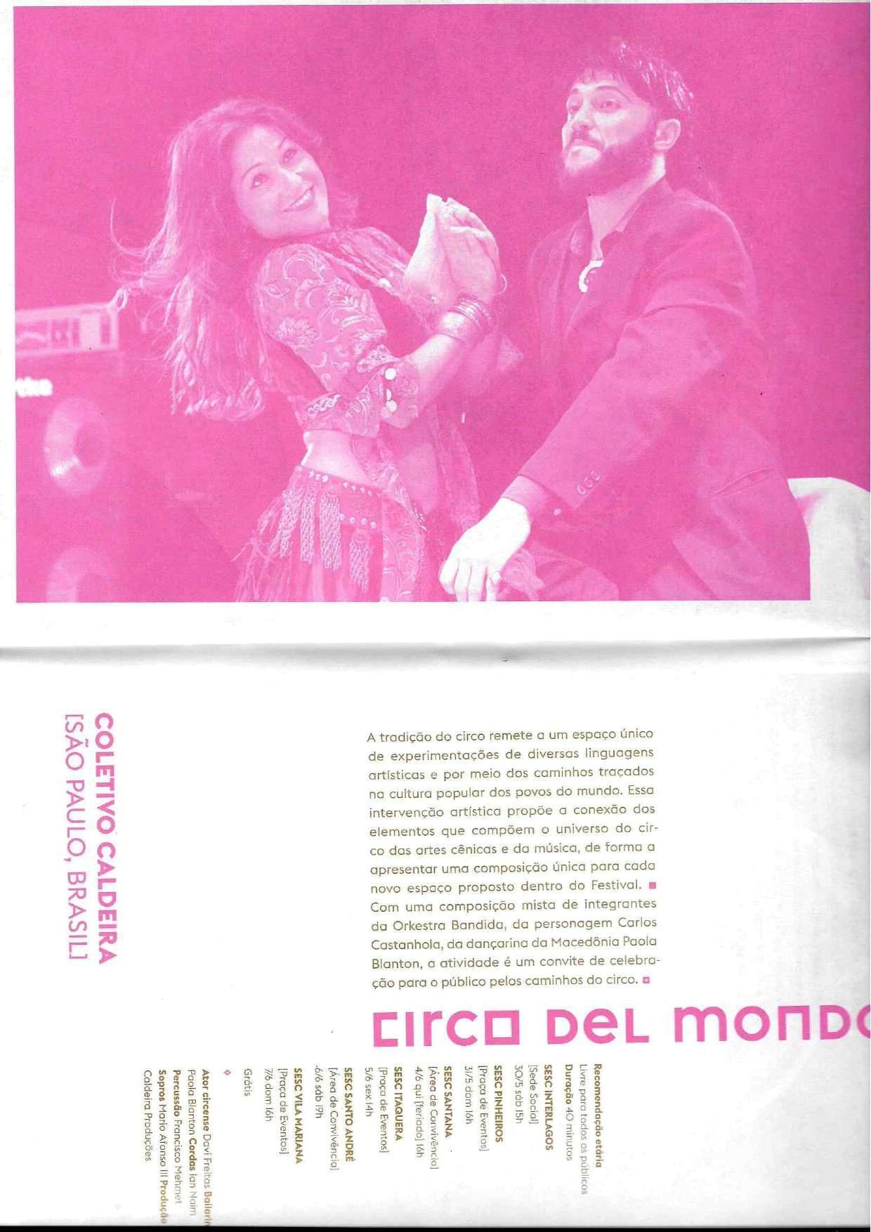 Circo Del Mondo_Festival Internacional Sesc de Circo