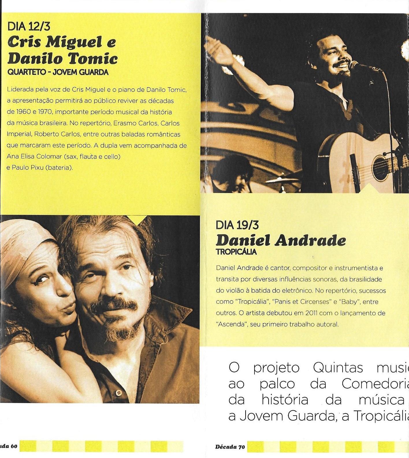 Jovem Guarda e Daniel Andrade