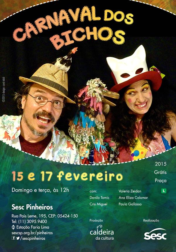 Carnaval dos Bichos l Sesc Pinheiros