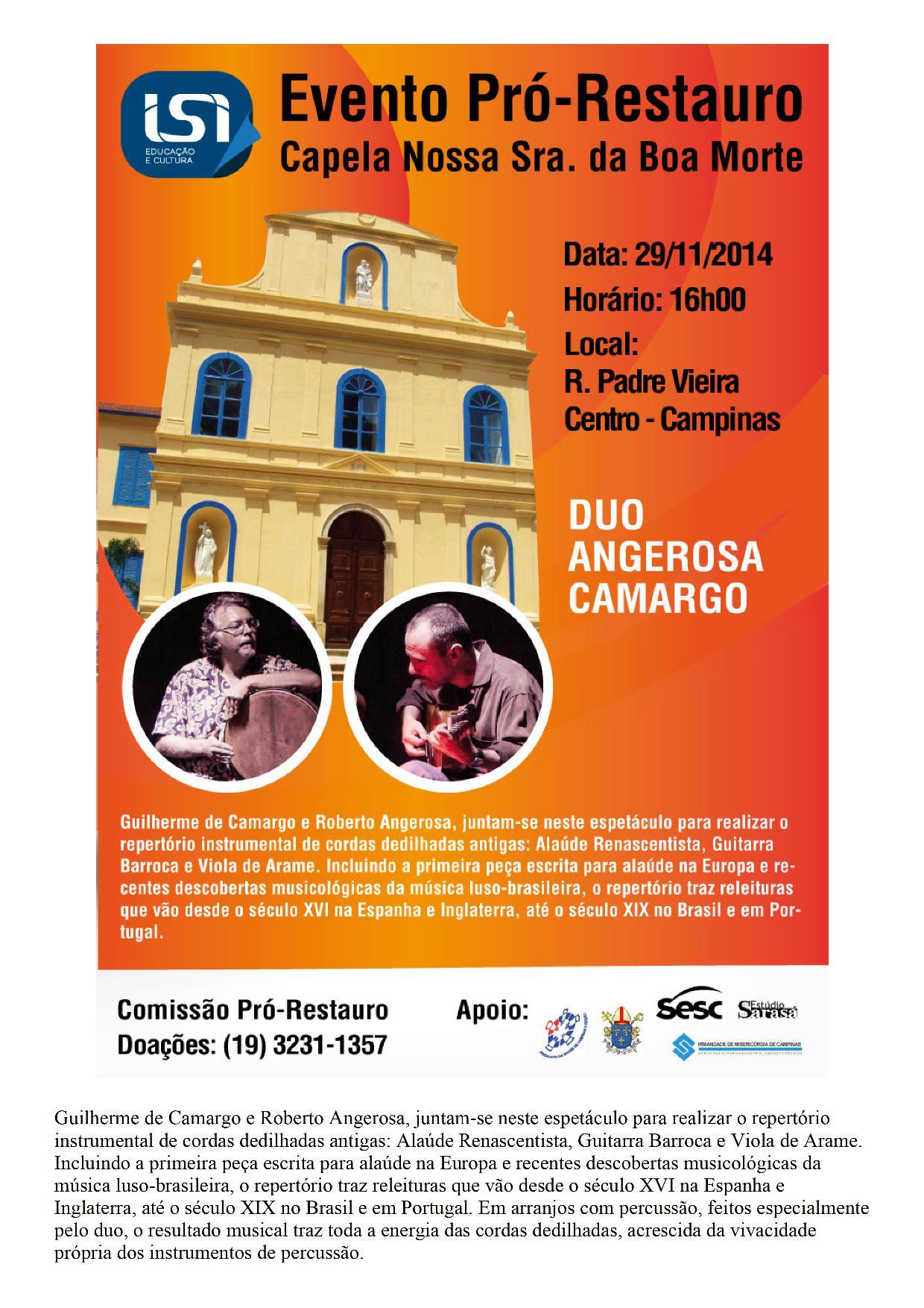 Duo Angerosa Camargo l Campinas
