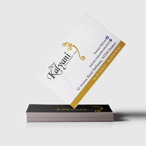 Les Cartes De Visite Sont Des Produits Professionnels Limage Votre Entreprise Cest Le Premier Contact Entre Vous Et Client