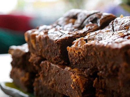 Takeaway GF Salted Caramel Brownie Box