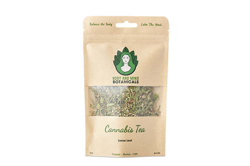 cannibus loose tea leaves