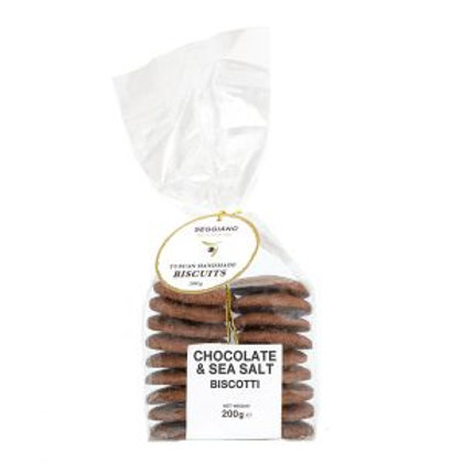 Sea Salt & Chocolate Biscuits