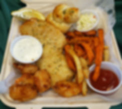 Fish and Chips/Shrimp Combo