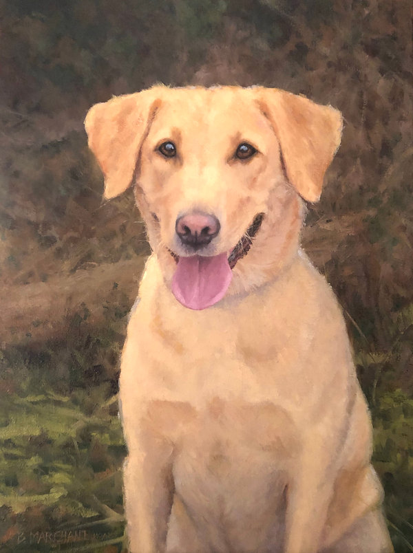 Gracie 24 x 18 Oil