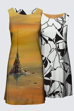 Robe col rond réversible - 134$