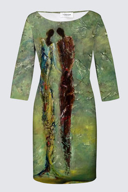 Robe manches 3/4 - 124$