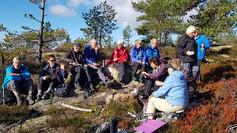 Rapport tur til Østre Vealøs søndag 30.9.18