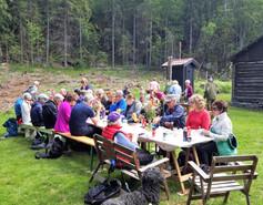 Tur til Årholtstua 2 pinsedag 10. juni.