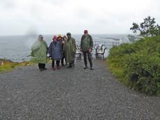 Seniorer på Langesund kyststi