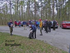 Seniorene med rundtur i Borgeåsen torsdag 25.04.19