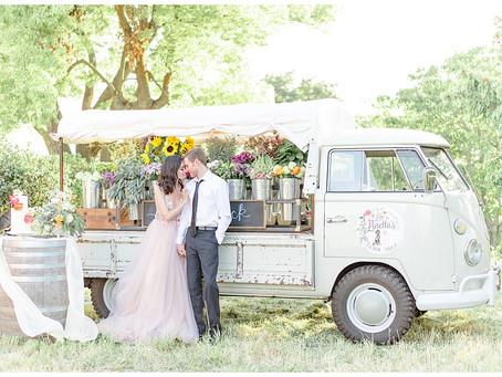 La Loretta's Floral Truck Styled Shoot ⎮ Gianna, Angelica & Tyler, Shannon & TJ, Katherine