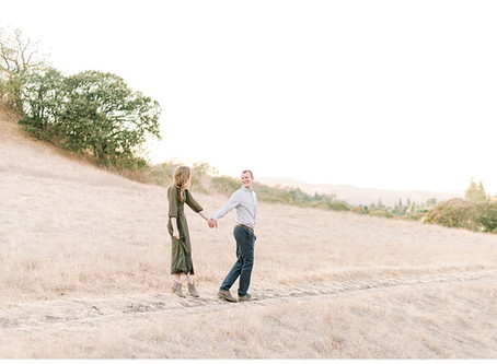 Bay Area Engagement Session, Walnut Creek ⎮ Natalie & Tommy