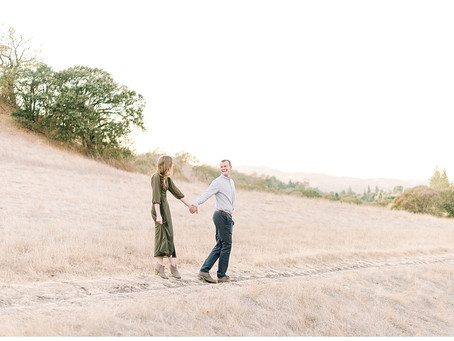 Bay Area Engagement Session, Walnut Creek ⎮ Natalie & Tommy