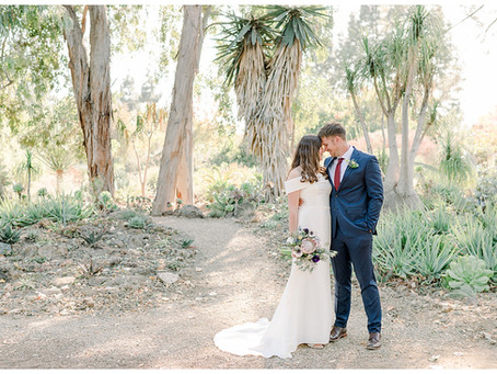 Wedding at Ruth Bancroft Gardens ⎮ Cassandra & Robert