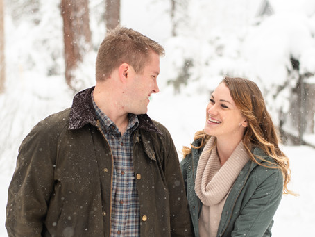 Lake Tahoe Couples Session ⎮ Tori & Braudy ⎮ Lara & Matt