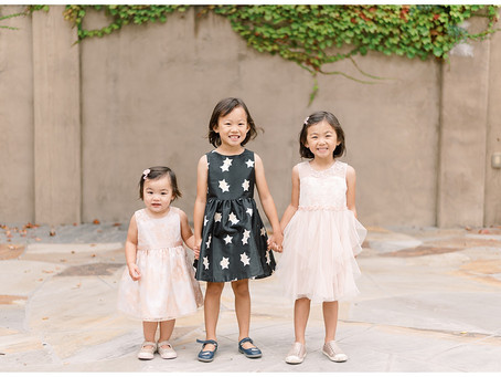 Orinda Family Portrait Session ⎮ The Chen Family