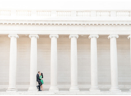Legion of Honor and Torpedo Warf, San Francisco Engagement Session ⎮ Richell & Steve