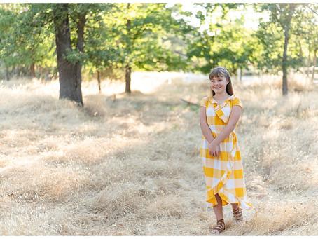 Walnut Creek Portrait Session ⎮ Sadie Grace