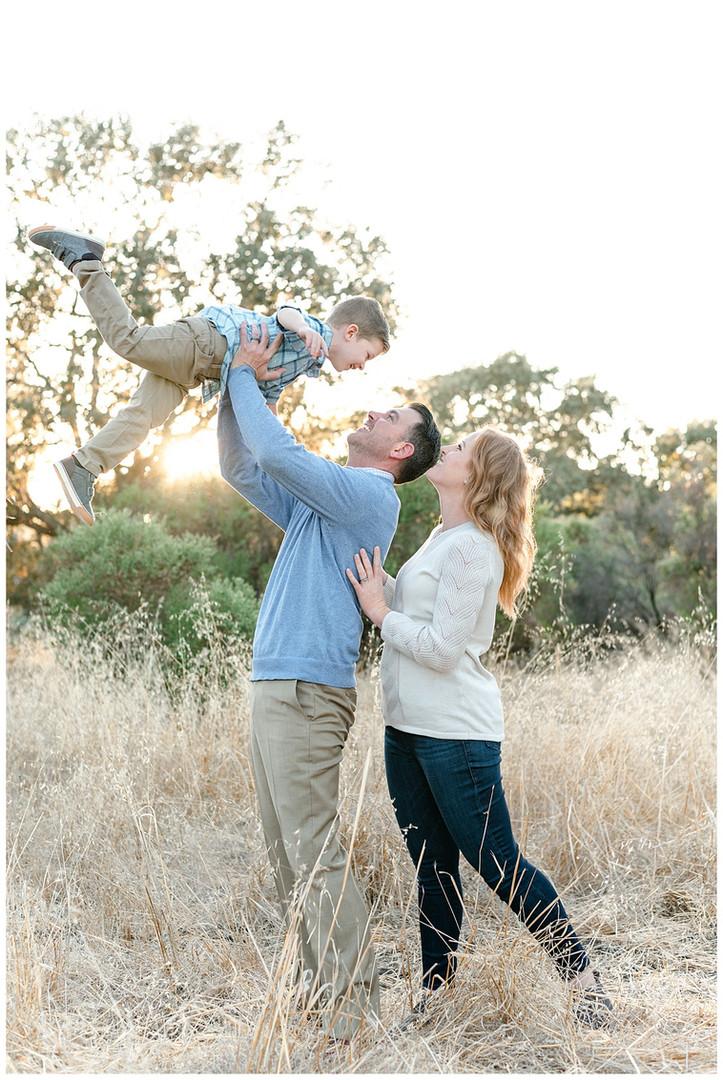 Heather Farms Walnut Creek Family Portra