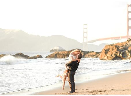 Baker Beach Anniversary Session ⎮ Stephanie & Tim