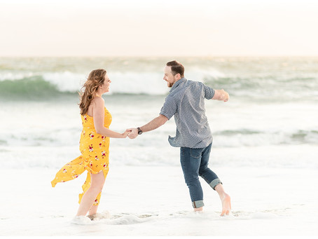 Rodeo Beach Engagement Session ⎮ Rebeca and Gavin