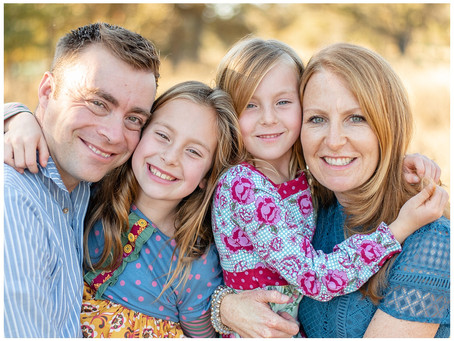 Walnut Creek Fall Family Session ⎮ Blair Family