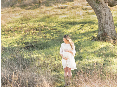 Walnut Creek Maternity Session ⎮ Lauren Dragus