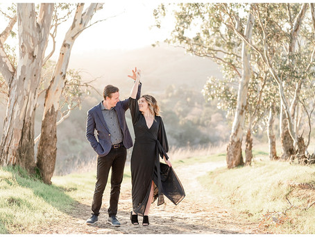 Bay Area Engagement Session, Lafayette ⎮ Jane and Will
