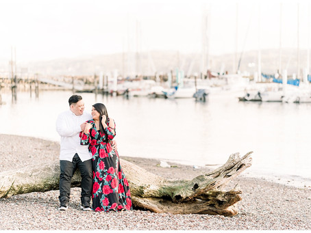 Fort Baker Engagement Session ⎮ Michelle & Eric