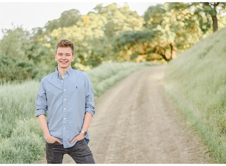 Walnut Creek Senior Session ⎮ Liam Ferguson