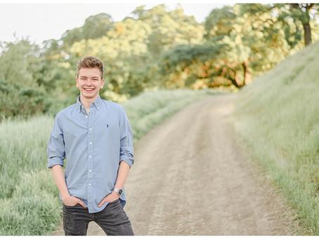 Walnut Creek Senior Session ⎮ Liam Ferguson