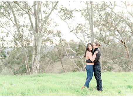 Bay Area Engagement Session, Lafayette ⎮ Alyssa & Aaron