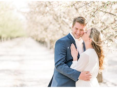 Almond Blossom Engagement Session ⎮ Lara & Matt