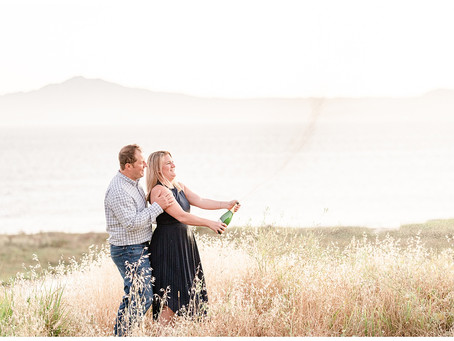 Point Pinole Regional Shoreline Engagement Session ⎮ Piper & Sam