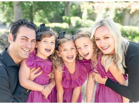 Orinda Family Portrait Session ⎮ The Yammine Family
