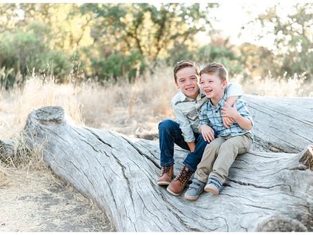 Walnut Creek Family Portrait Session ⎮ The Wellman Family