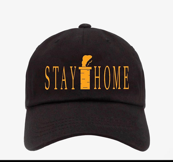 """Stay Home"" dad cap"