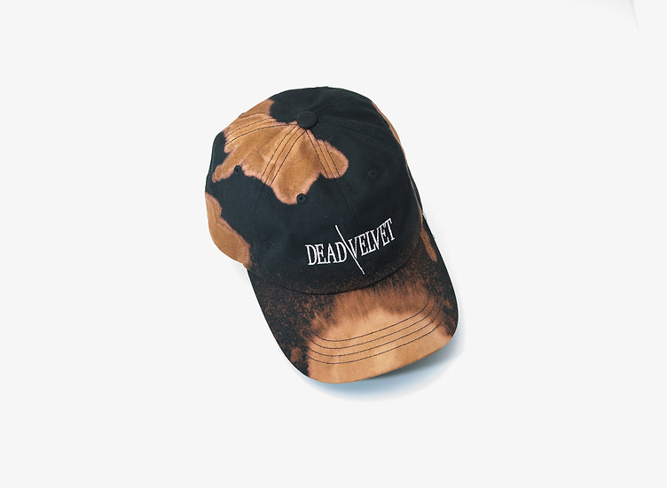"Bleach Stained ""Dead"" Hat"