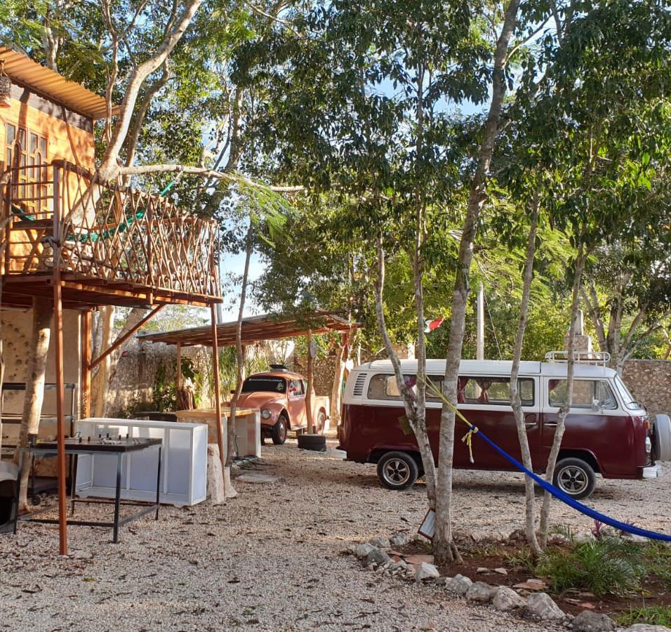 Camping au Mexique