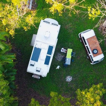 Camping car Mexique