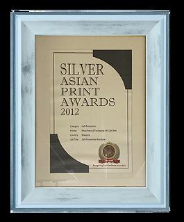 Kinta Press Packaging the Silver asian print awards
