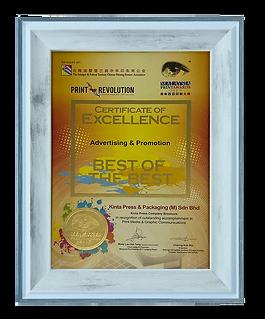 Kinta Press Malaysia an award winning company