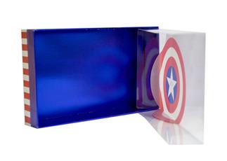 CAPTAIN AMERICA (also for batman, superman box)