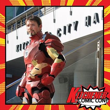 Cosplayer KW Iron Man
