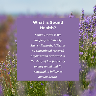 What is Sound Health.png